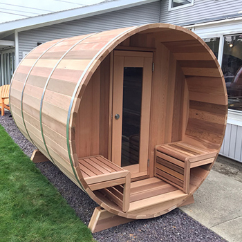 Barrel Sauna Demo